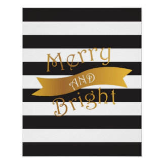 Merry and Bright Poster