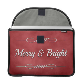 Merry and Bright Sleeve For MacBook Pro