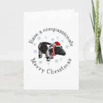 Merry and CompassionateChristmas Holiday Card