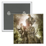Merry and Peregrin on Treebeard 2 Inch Square Button