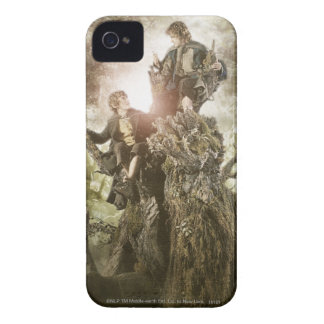 Merry and Peregrin on Treebeard iPhone 4 Cover