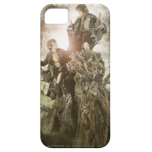 Merry and Peregrin on Treebeard iPhone 5 Cases