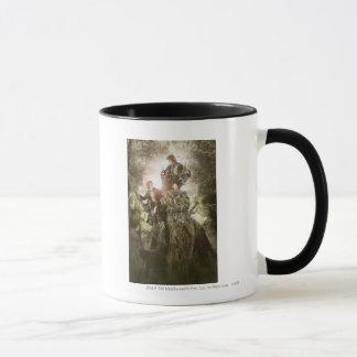 Merry and Peregrin on Treebeard Mug
