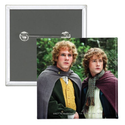 Merry and Peregrin Pinback Button
