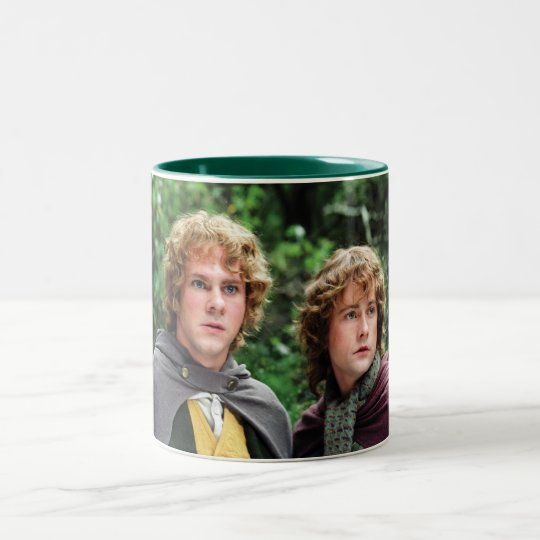 Merry and Peregrin Two-Tone Coffee Mug