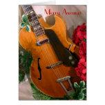 Merry Axemas Jazz Guitar card