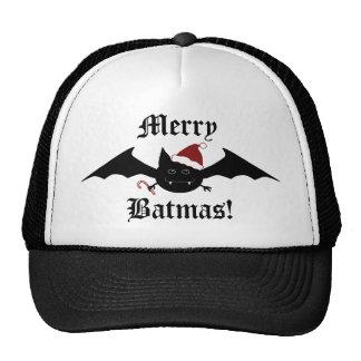 Merry Batmas silly gothic bat Trucker Hat