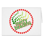 Merry Beading Greeting Cards