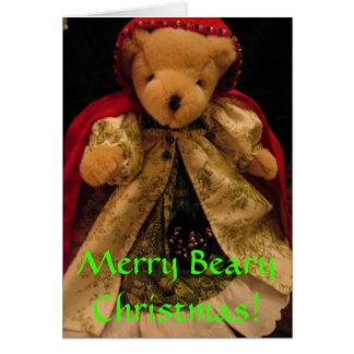 Merry Bear Christmas Card
