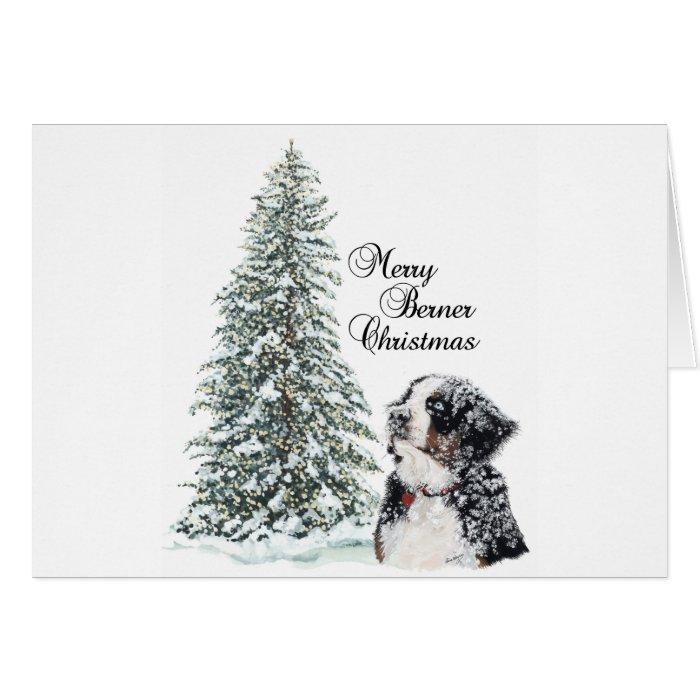 Merry Berner Christmas Card