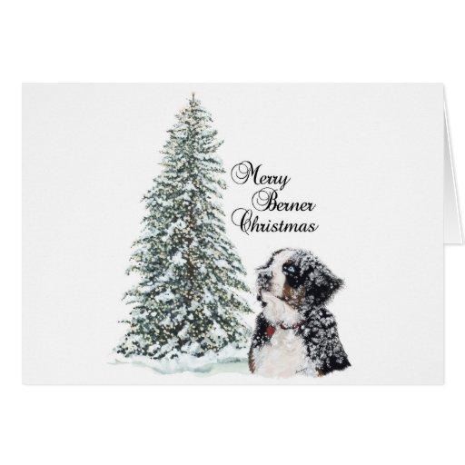 Merry Berner Christmas Greeting Cards