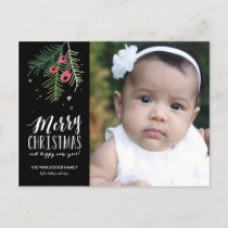 Merry Berry Collection Holiday Postcard