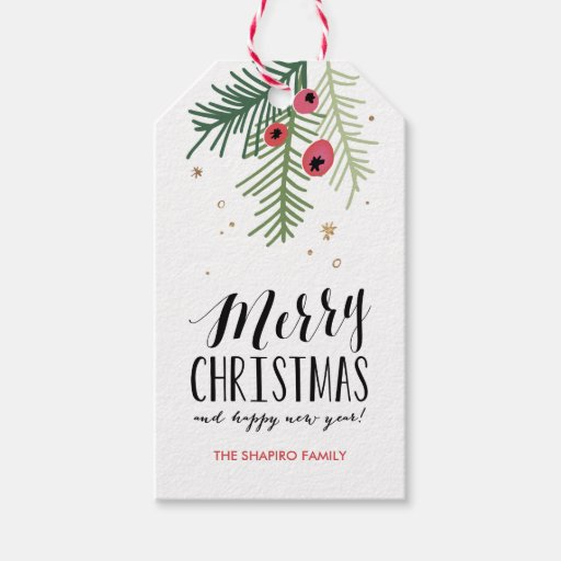 Merry Berry Collection Pack Of Gift Tags