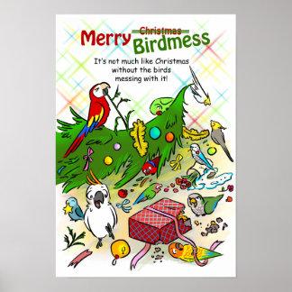 Merry Birdmess Poster