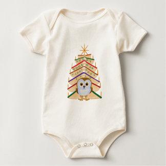 Merry Bookmas Baby Bodysuit