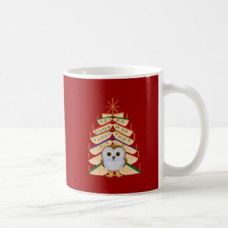 Merry Bookmas Coffee Mug