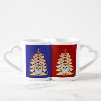 Merry Bookmas Couples Coffee Mug