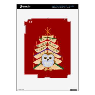 Merry Bookmas Decals For iPad 3