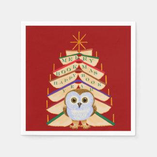 Merry Bookmas Napkin