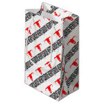 Merry & Bride & Bull by Vimago Small Gift Bag