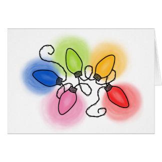 """Merry & Bright"" Card"