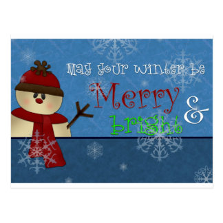 Merry & Bright Collection Postcard