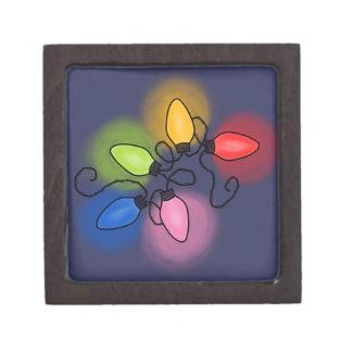 """Merry & Bright"" (dark background) Premium Gift Boxes"