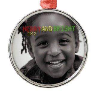 Merry & Bright Holiday Keepsake Ornament