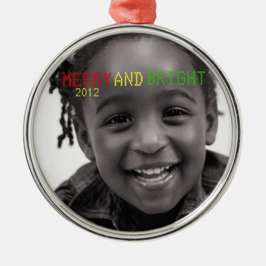 Merry & Bright Holiday Keepsake Ornament