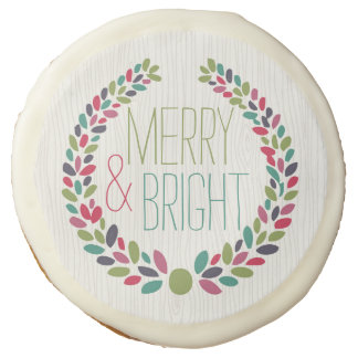 Merry & Bright Modern Woodland Holiday Cookies