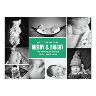 Merry & Bright Multi Photo Card