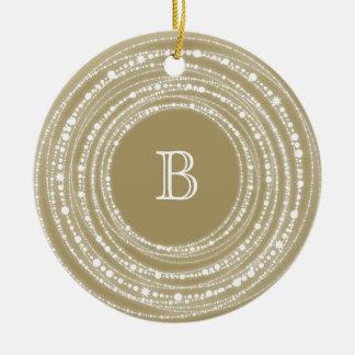 Merry & Bright Sparkles Christmas Photo Ornament