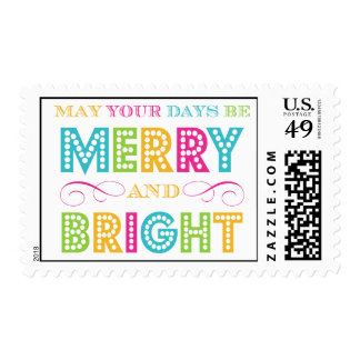 Merry & Bright (Today's Best Award) Postage