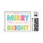 Merry & Bright (Today's Best Award) Postage Stamp