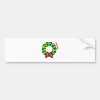 Merry Bumper Sticker