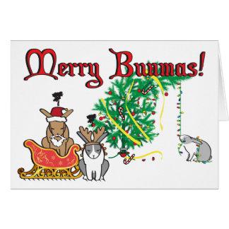 MERRY BUNMAS! CARD