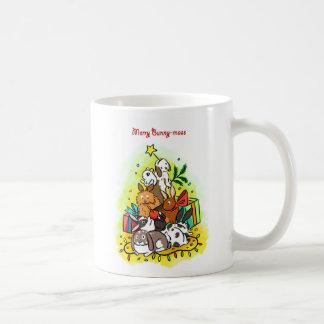 Merry Bunny-mass Coffee Mug