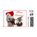 Merry Canine Christmas Postage