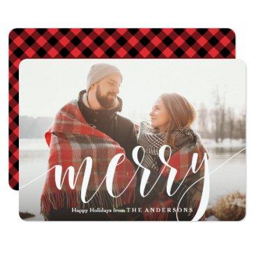 Christmas Themed Merry Card