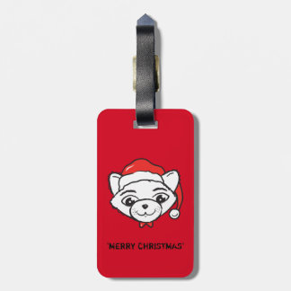 Merry CATmas Everyone - Merry Christmas Cat Luggage Tag