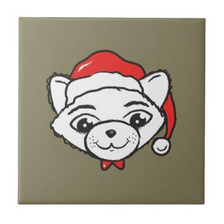Merry CATmas Everyone - Merry Christmas Cat Tile