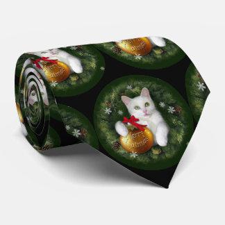 Merry Catmas Tie