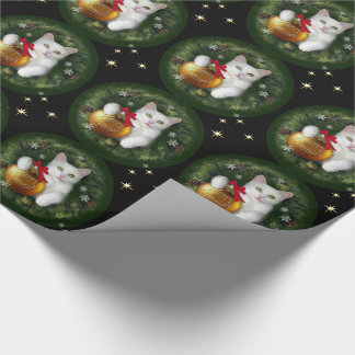 Merry Catmas Wrapping Paper