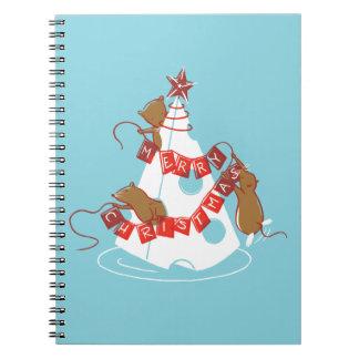 Merry Cheesemas Holiday Notebook