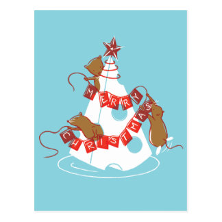 Merry Cheesemas Holiday Postcard (PERSONALIZE IT!)