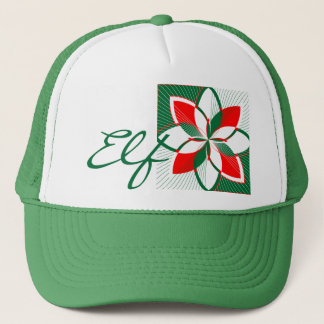 Merry Cherry Mint, Elf Trucker Hat