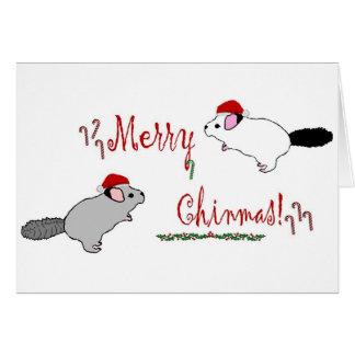 Merry Chinmas  Greeting Card