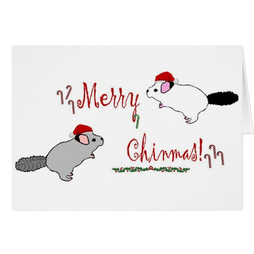 Merry Chinmas  Greeting Card