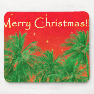 Merry Chirstmas Design Mouse Pad