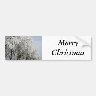Merry Chistmas Bumper Sticker